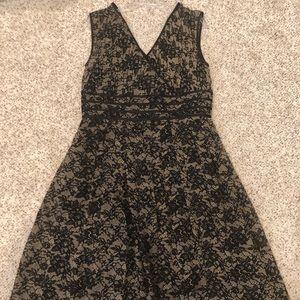 Adrianna Papell Silk Dress